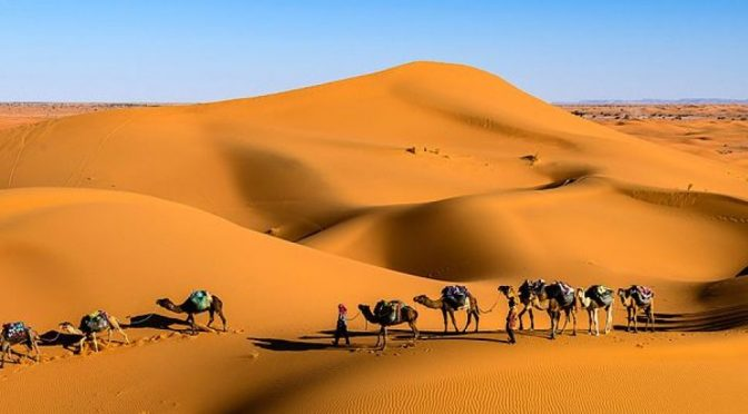 Caravans and Sifting Sands
